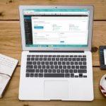 Laptop mit WordPress - Warum eine Website so wichtig für Sie sein kann